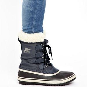 SOREL Winter Carnival Snow Boot Gray 8.5